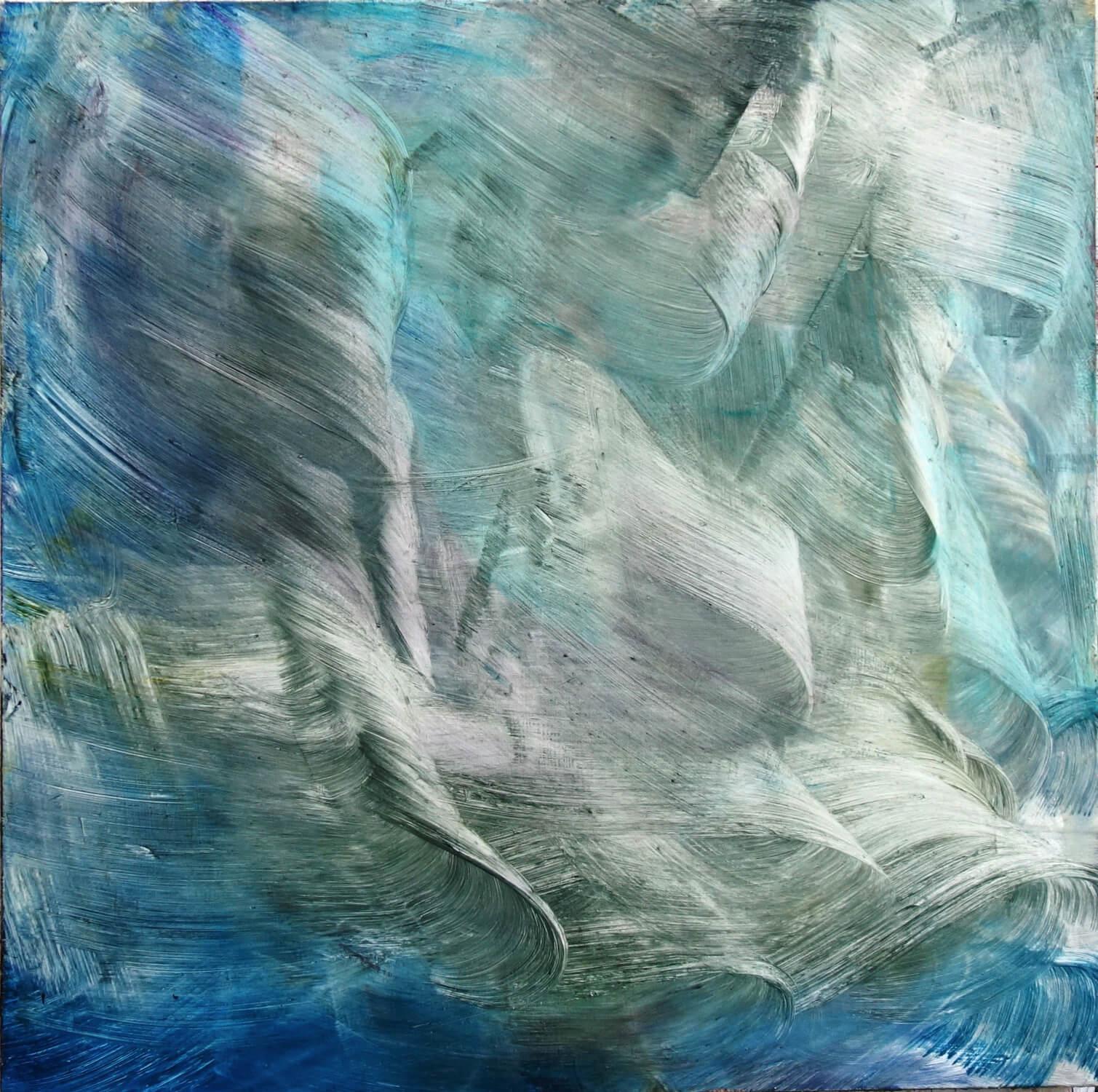 Isa Dahl / als ob / 2019 / Öl auf Leinwand / 170 x 170 cm