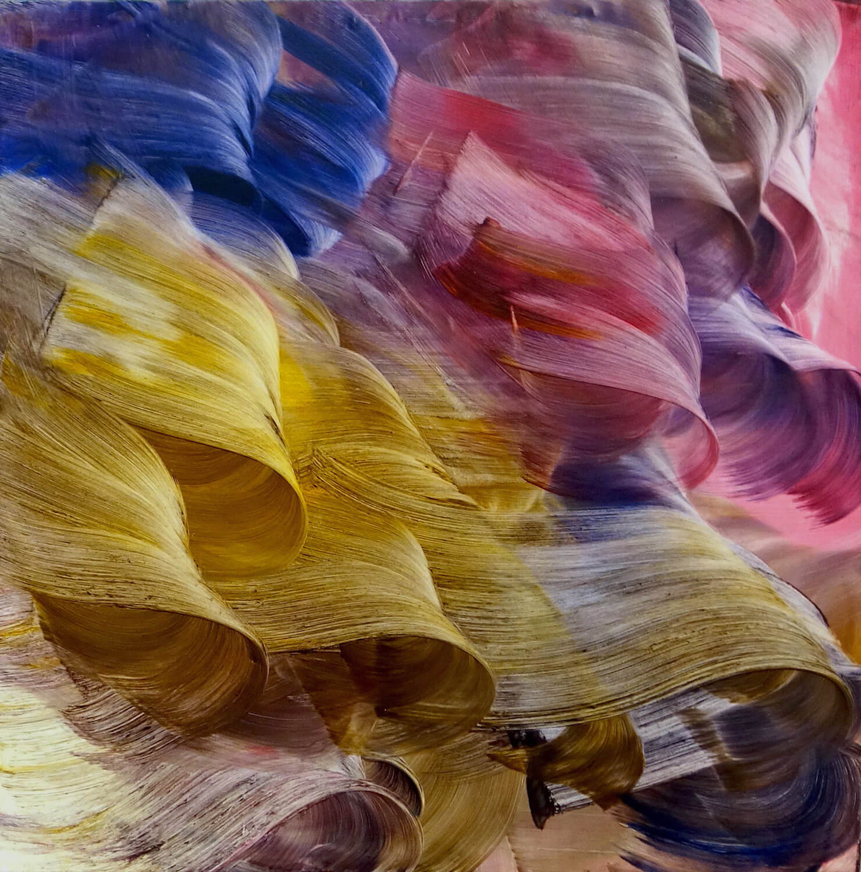 Einstiegsbild_ Dahl, Isa, wanderung, 2020, Öl auf Leinwand, 200x200cm